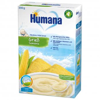 Каша Humana молочна кукурудзяна, 200 г