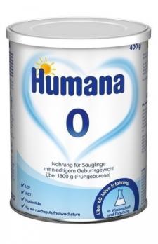 Humana 0, 400 г
