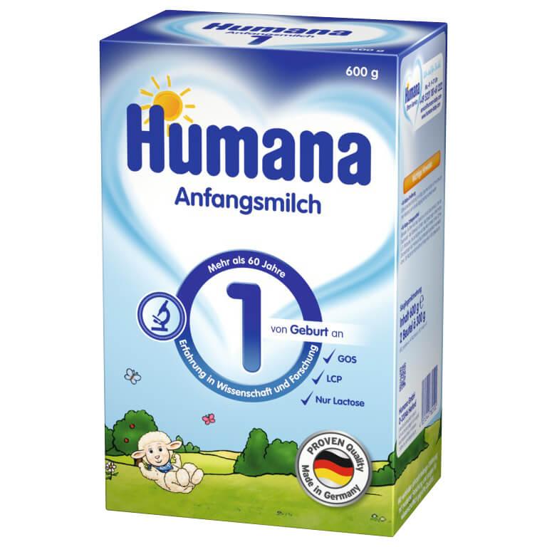 Humana 1, 600 г