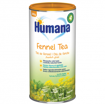 Чай Humana з фенхелем і кмином, 200 г (термін придатності   21.08.2021)