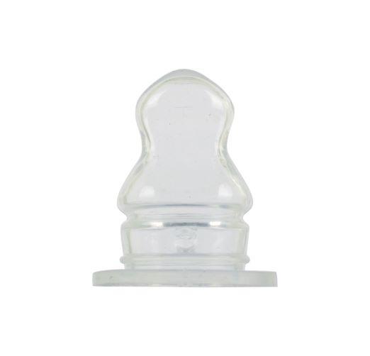Соска силиконовая ортодонтическая Baby Team, Х-образное отверстие, 6 мес+, 1 шт.
